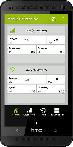 Mobile Counter Pro - 3G, WIFI v3.6
