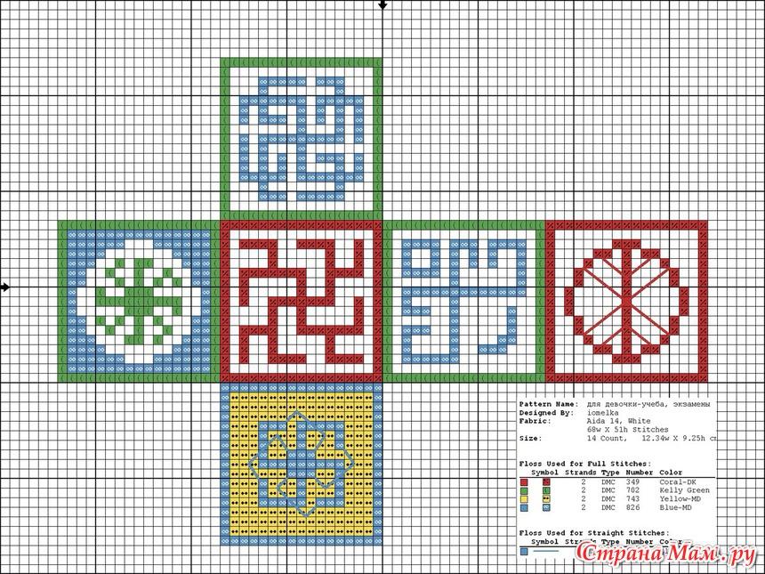 Вышивка крестом оберегов схемы для вышивки 200