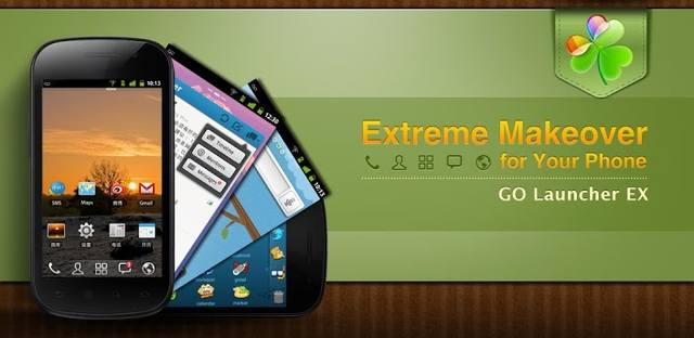 Go Launcher EX Prime v5.07 + Themes + Mod(2014/RUS/ENG/Android)