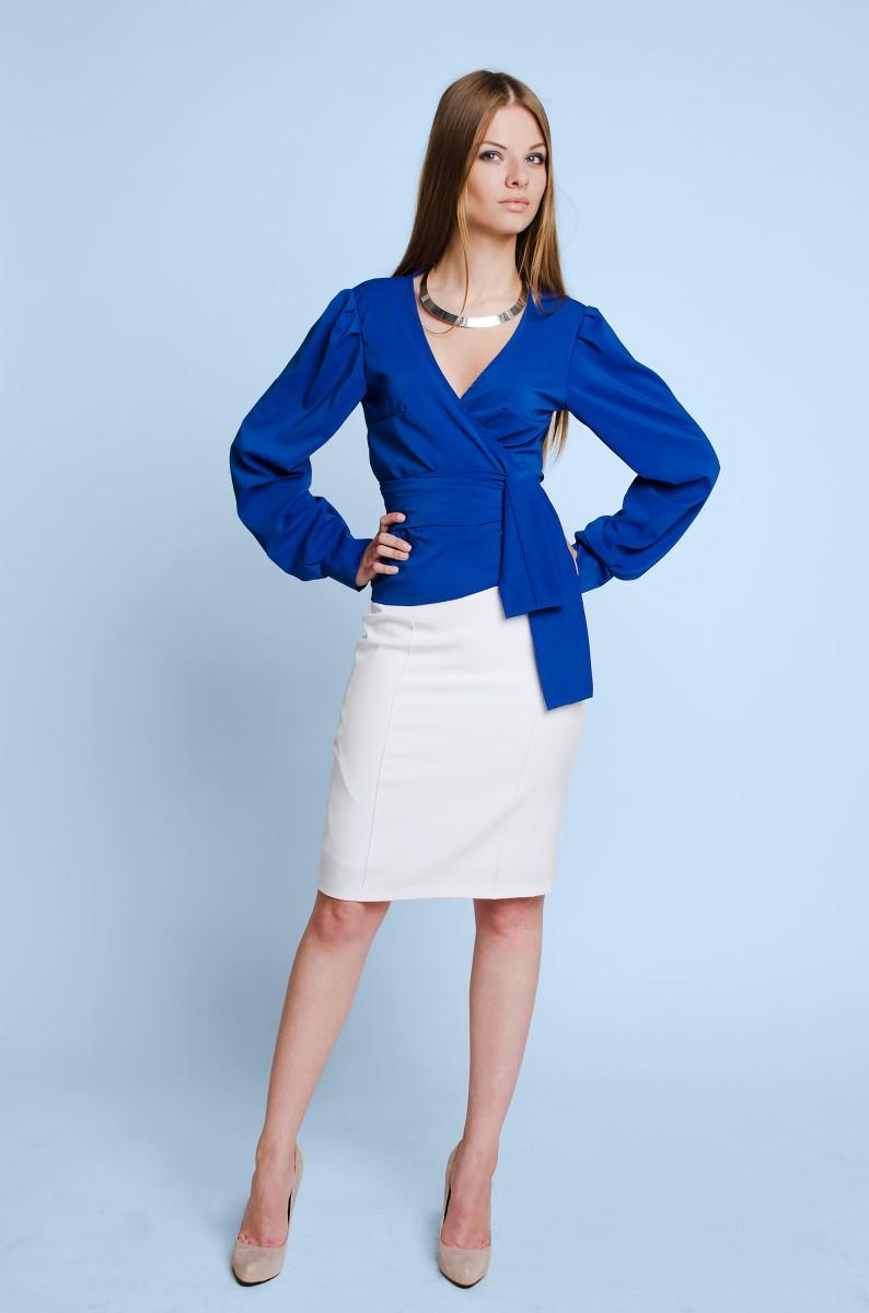 Сиреневая блузка