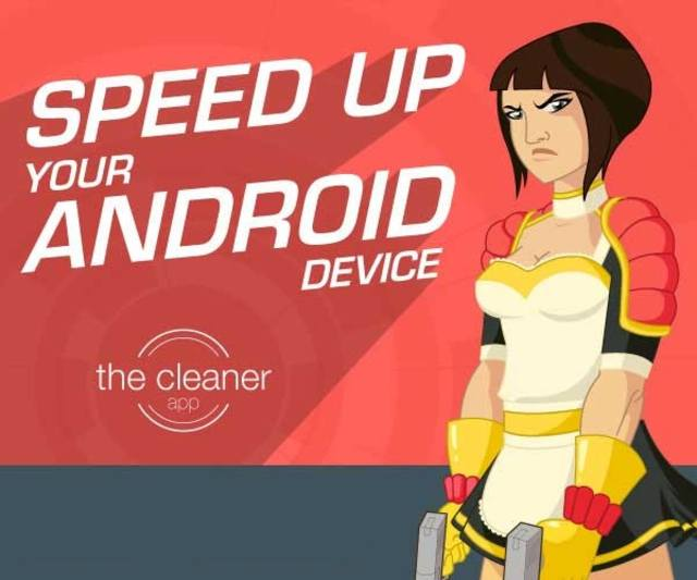 The Cleaner - Speed up & Clean v1.5.4.1 Unlocked (2015/RUS/ENG/Android)