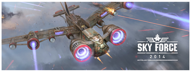 Sky Force 2014 v1.34 + Hack + Mod (много денег) + Кэш (2015/RUS/ENG/Android)