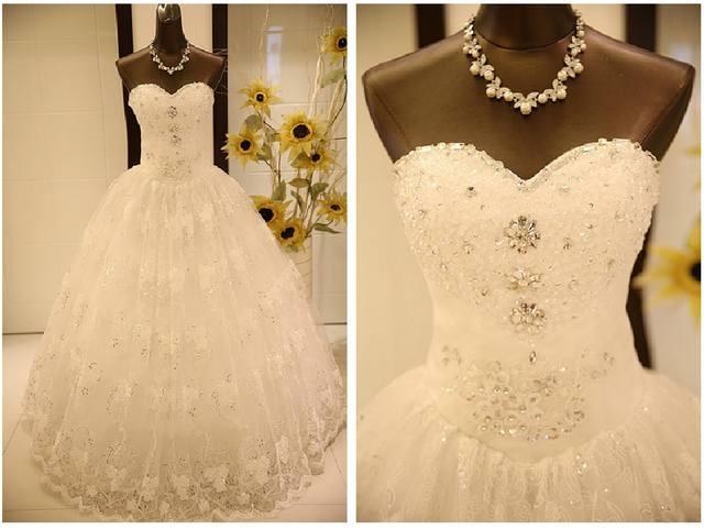 Фото свадебных платьев с страза