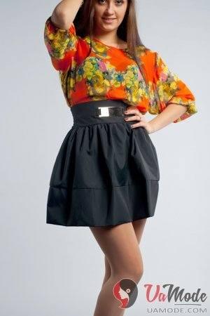 Блузка С Юбкой Завышенной Талией В Самаре
