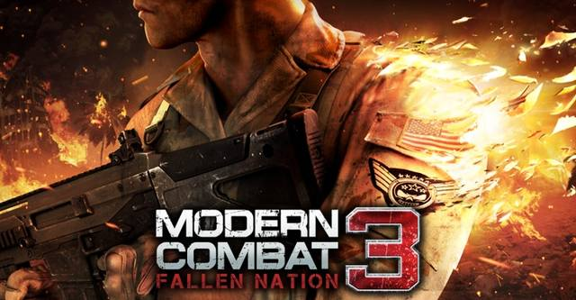 Modern Combat 3: Fallen Nation v1.1.4g + Кэш (2014/RUS/ENG/Android)