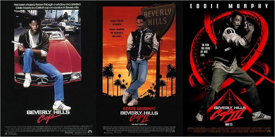 Полицейский Из Беверли Хиллз 1, 2, 3 / Beverly Hills Cop 1, 2, 3 (Мартин Брест, Тони Скотт, Джон Лендис) [1984, 1987, 1994 г., боевик, комедия, детектив, HDTVRip]