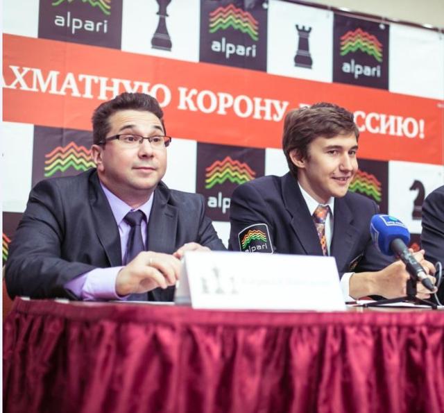 Кирилл Зангалис, Сергей Карякин