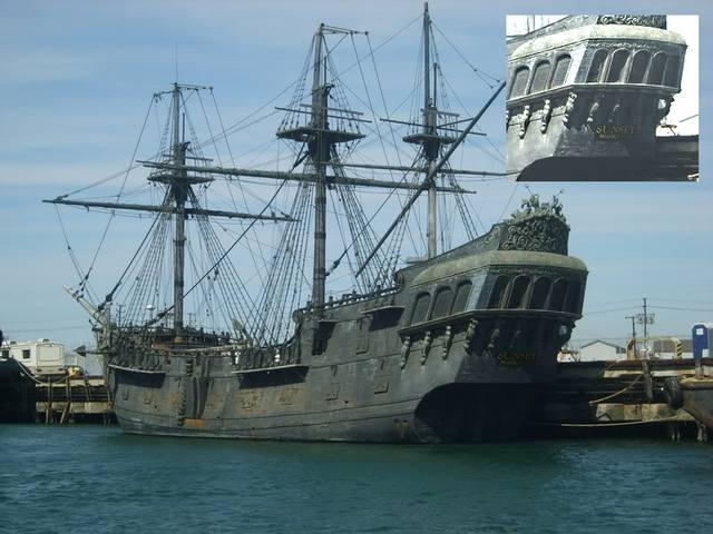корабль месть королевы анны фото