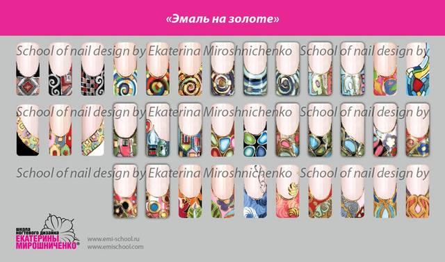 Дизайны ногтей по мирошниченко