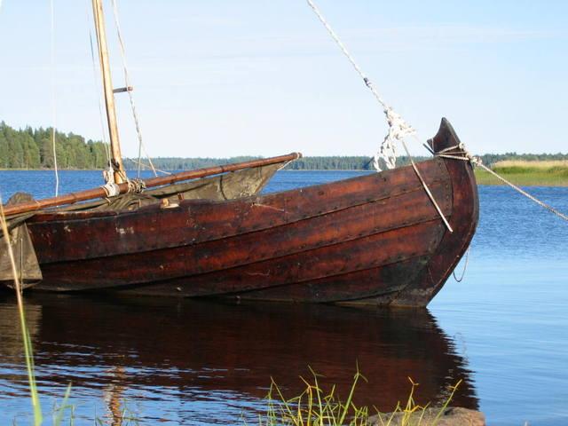 большая лодка