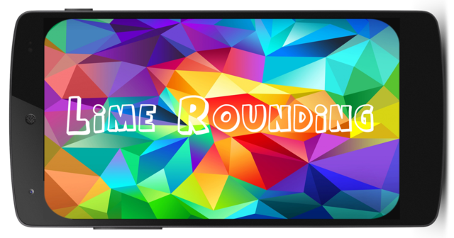 Lime Rounding / Округление углов v1.0.3 (2014/RUS/Android)