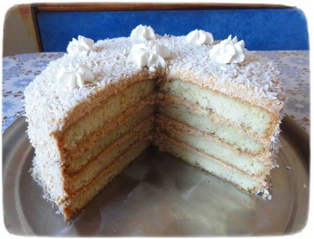 Рецепт торта кусочками фото