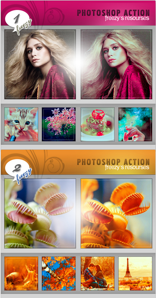 Photoshop Actions Pack 13