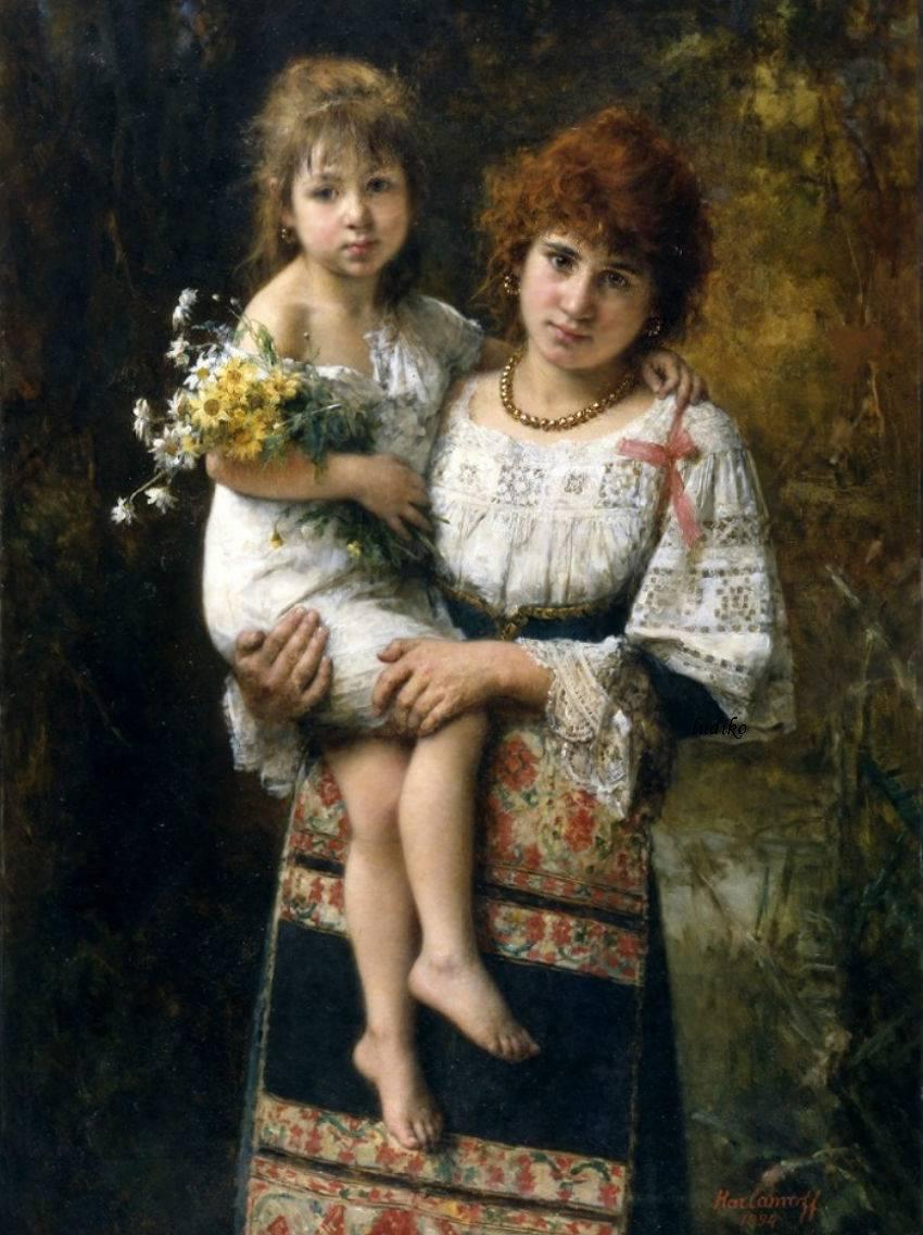 Частное мать и дочь 15 фотография