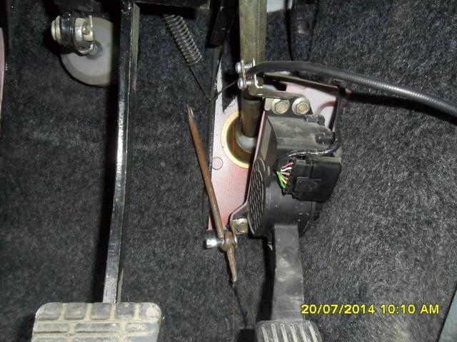 Ручной газ на авто своими руками