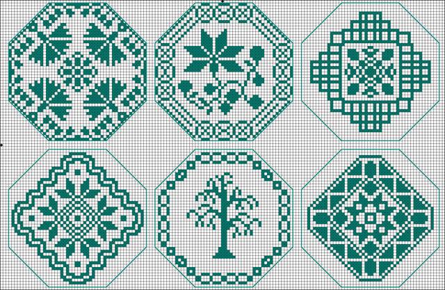 Схемы для вышивки квакеров