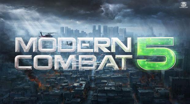 Modern Combat 5: Blackout / Modern Combat 5: �������� v1.0.0p + Mod Unlocked (2014/RUS/ENG/Android)