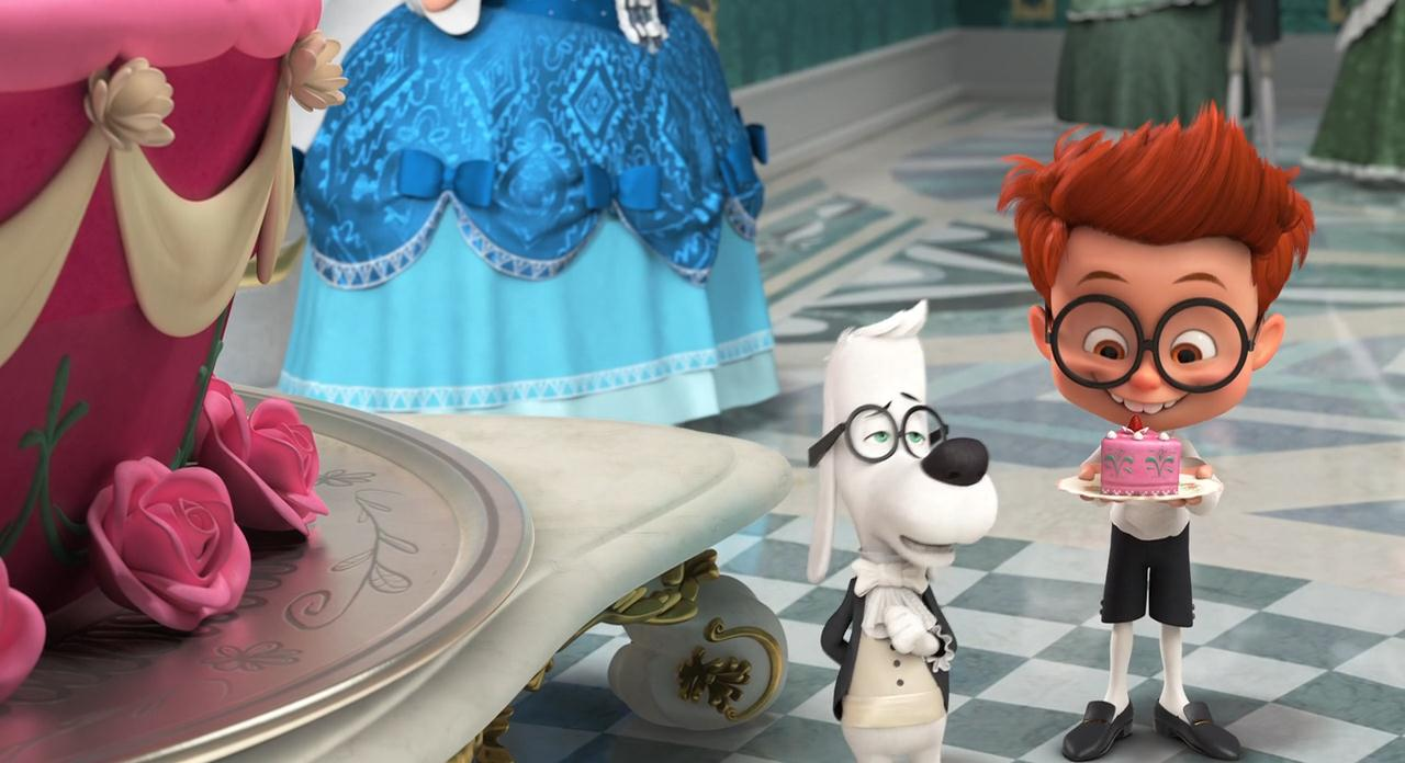 Приключения мистера Пибоди и Шермана / Mr. Peabody & Sherman (2014) BDRip 720p | Лицензия