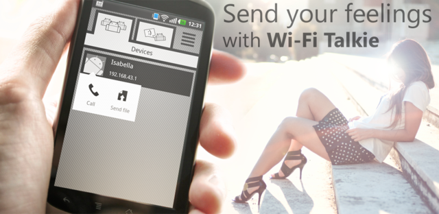 Wi-Fi Talkie v1.6.0 Full (2014/RUS/ENG/Android)