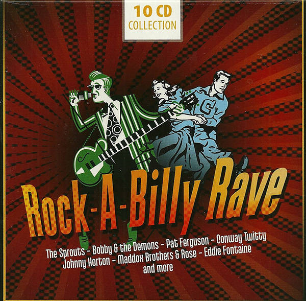 VA - Rock-a-Billy Rave [10CD] (2012)