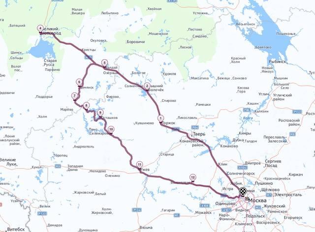 ]Расчет пути по карте