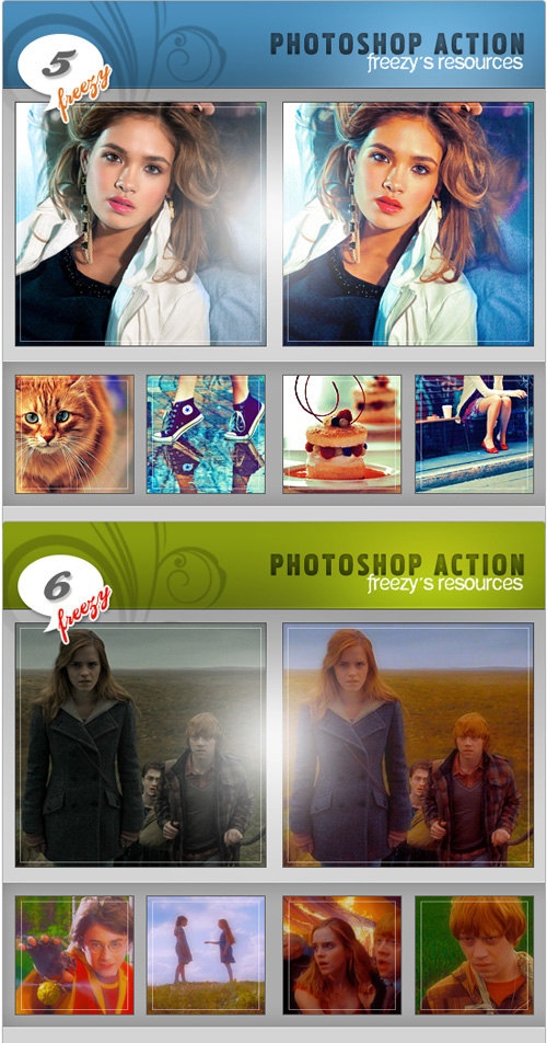 Photoshop Actions Pack 16