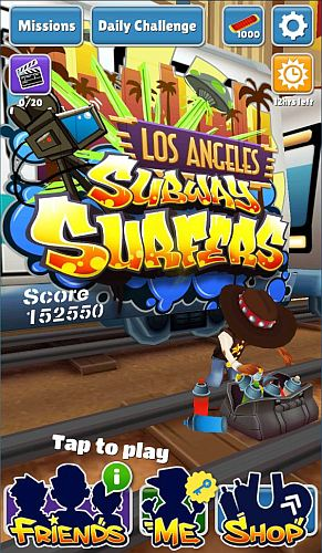 Subway Surfers v1.27.0 Los Angeles Mod