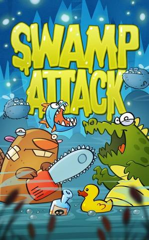 Swamp Attack v1.4 + Mod Money (2014/RUS/ENG/Android)