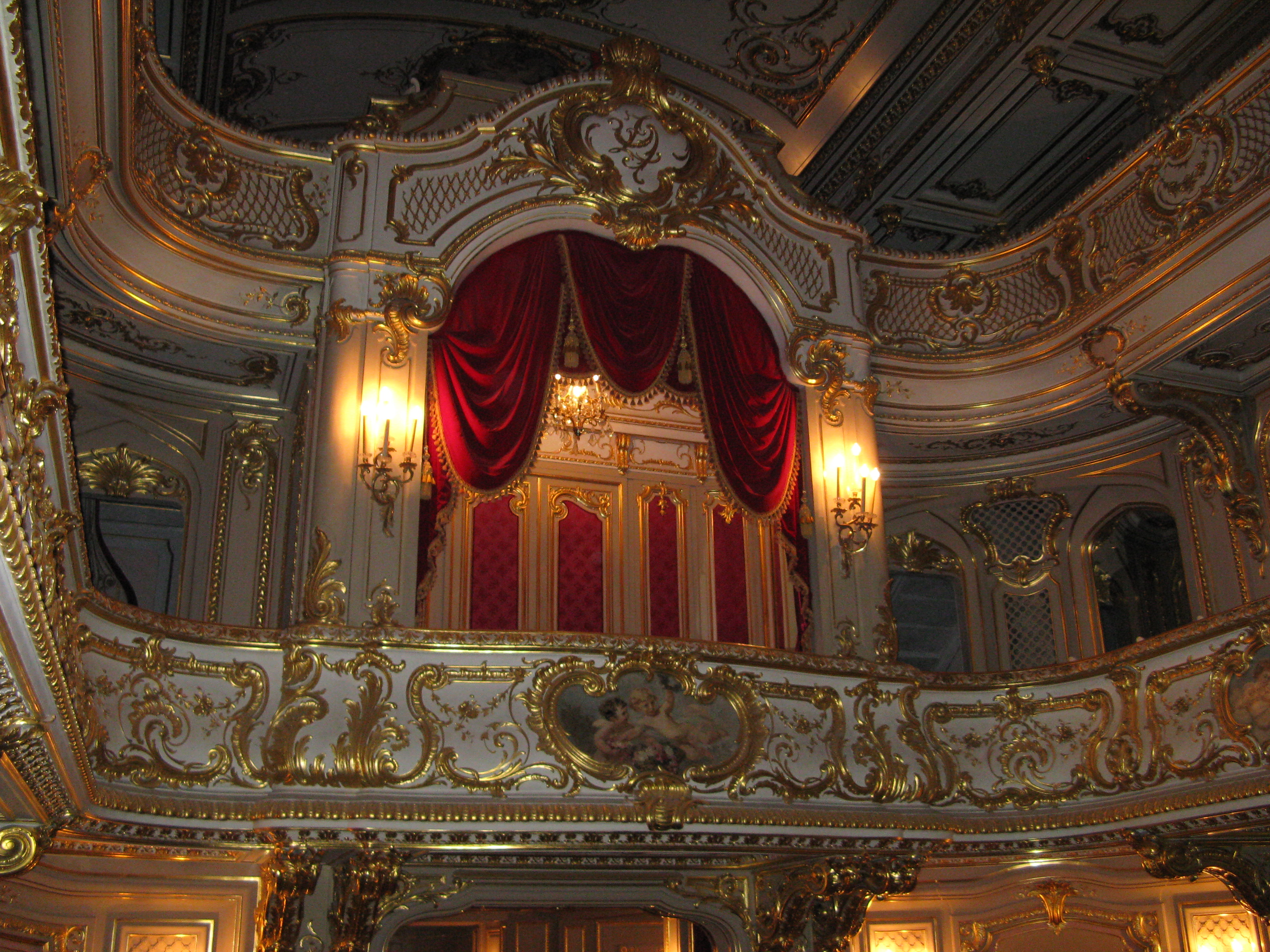 The Theater-Yusupov Palace-saint petersburg