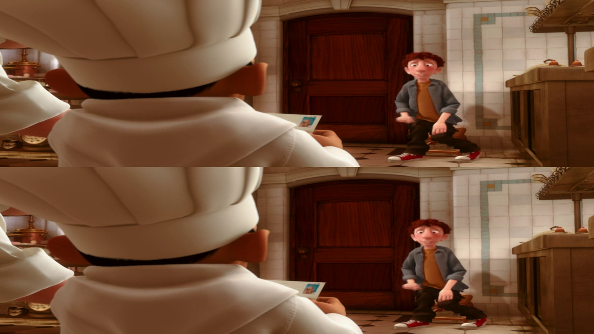 Ratatouille / Рататуй [3D] [2007 / BDRip 1080p] [Animation / Fantasy / Comedy]