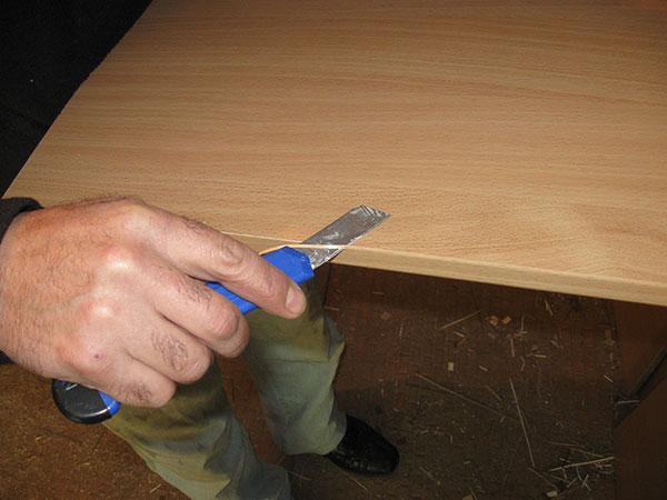 Как клеить кромку для дсп своими руками 36