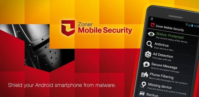 Zoner Mobile Security v1.2.2 (2014/RUS/ENG/Android)