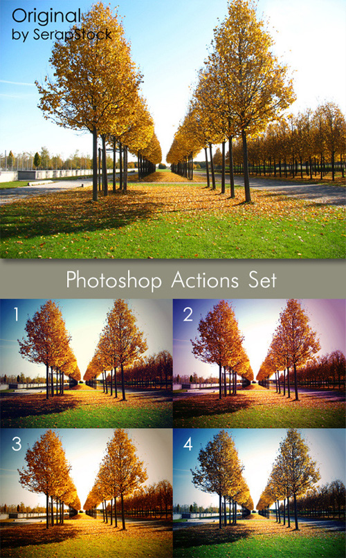 Photoshop Actions Pack 21