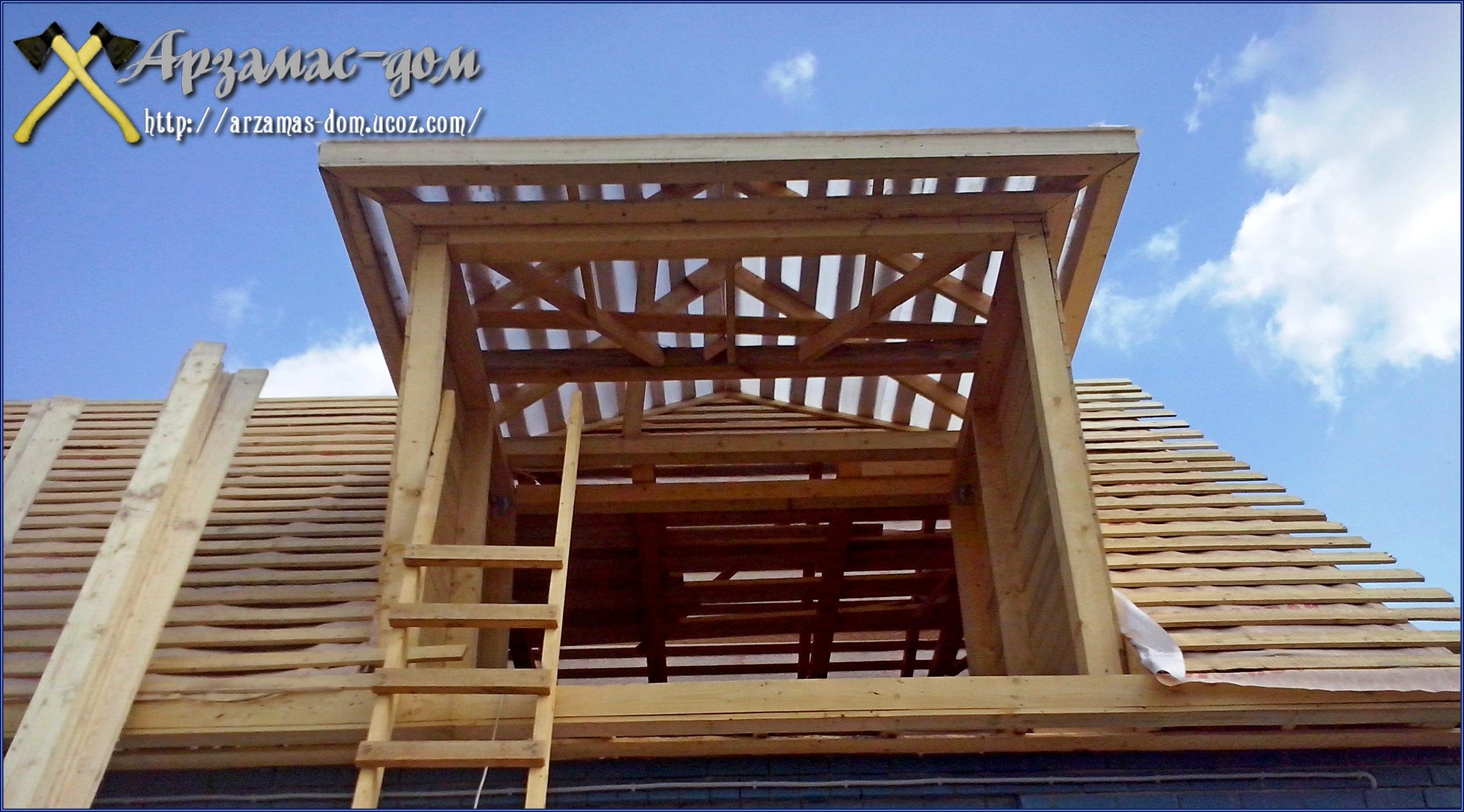 крыши - строительство