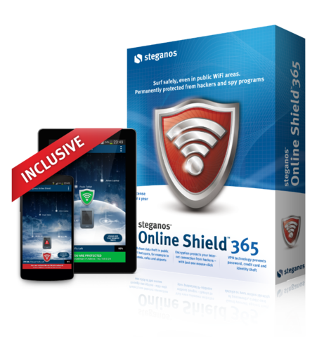 Steganos Online Shield VPN v1.0.3 (2014/ENG/Android)