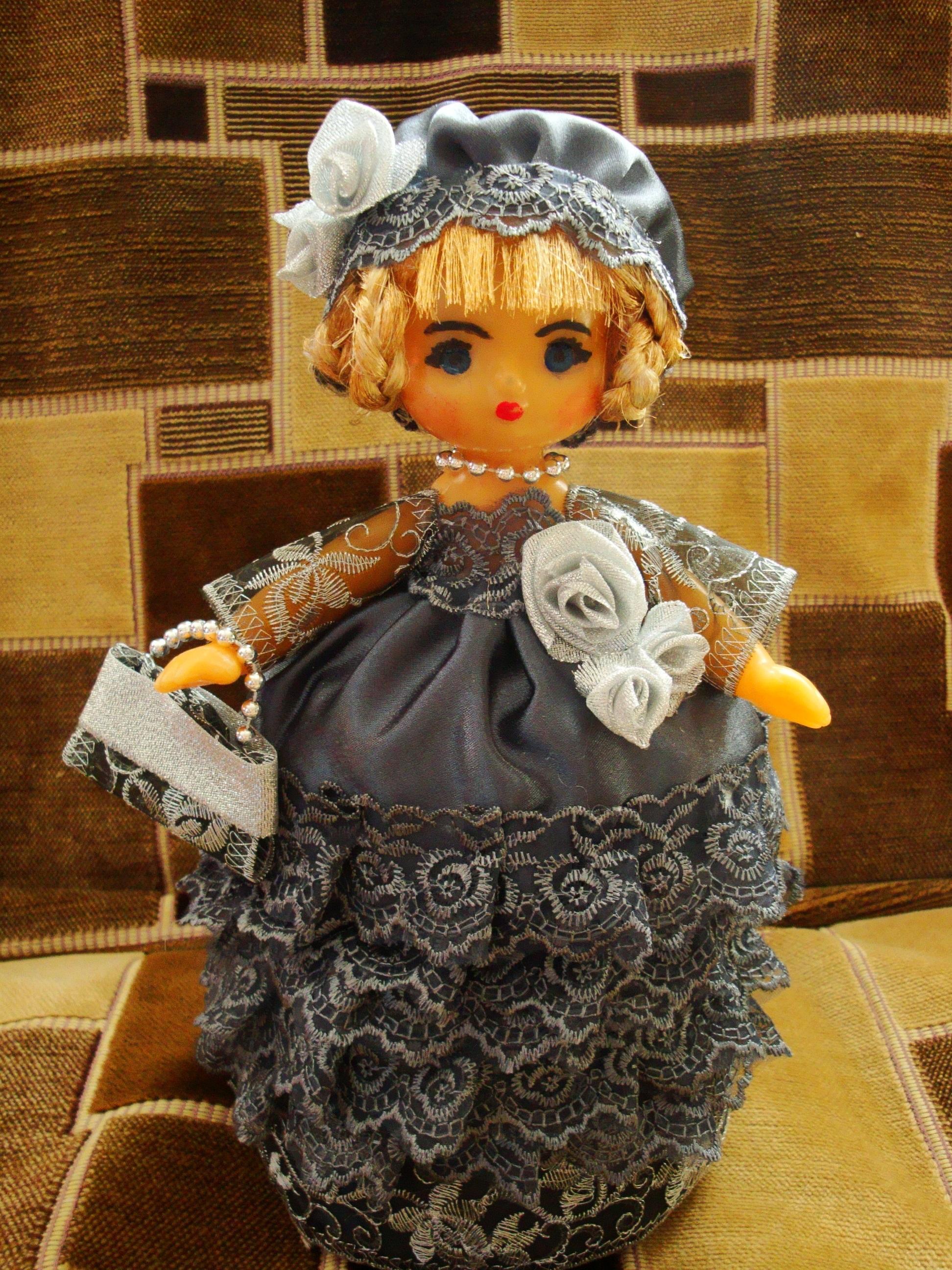 Поделка из старой куклы