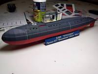 модель из бумаги подводной лодки варшавянка