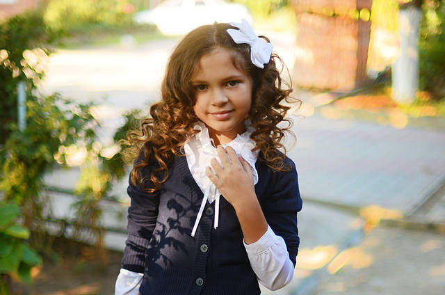 Прически для детей на 1 сентября фото