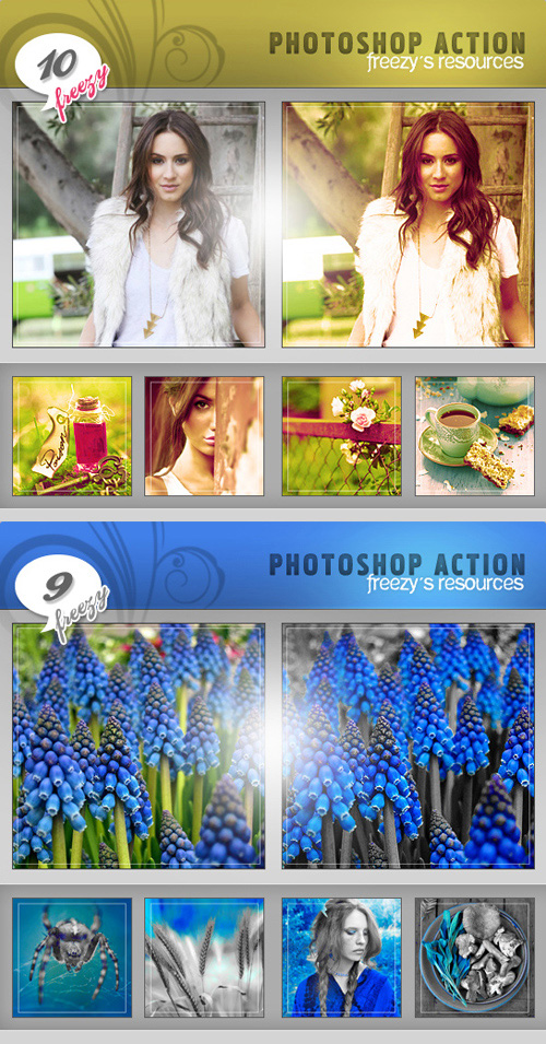 Photoshop Actions Pack 22