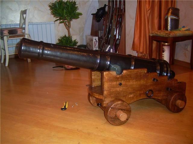 Старая пушка своими руками 49