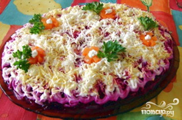Салат подшуба рецепт фото