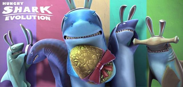 Hungry Shark Evolution v2.5.0 + Mod (много денег) + Кэш (2014/RUS/ENG/Multi/Android)