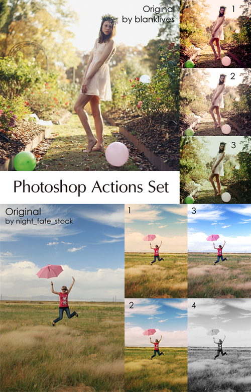 Photoshop Actions Pack 23