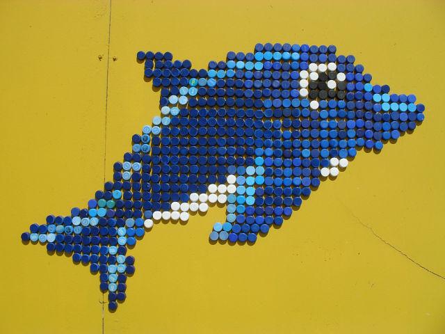 Схемы для поделок из крышек пластиковых бутылок