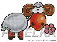 2015 год - год Овцы (Козы) 6408336_s