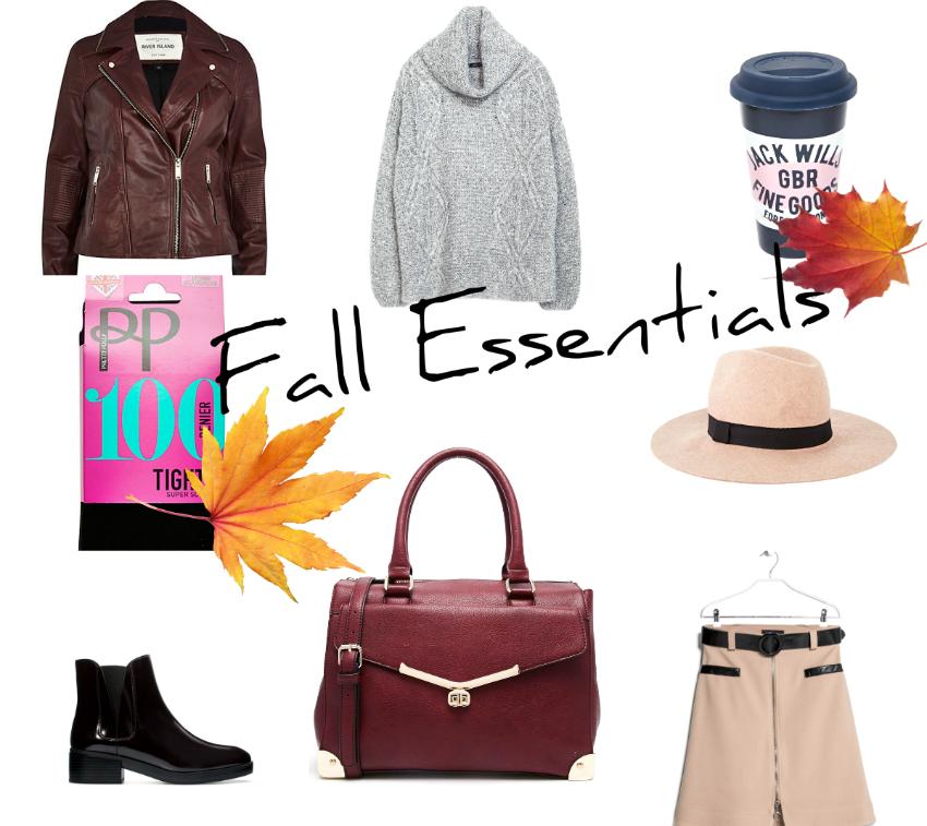 Fall Essentials autumn 2014 fashion