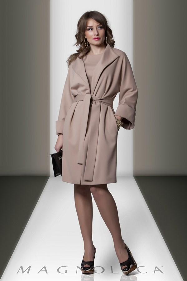элегантное пальто в стиле Prada на подкладке из плотного трикотажа. пальто magnolica, купить пальто magnolica