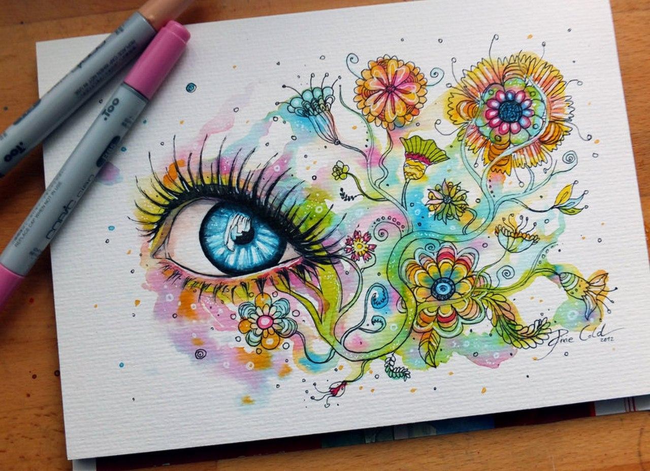 Самые красивые рисунки своими руками 78