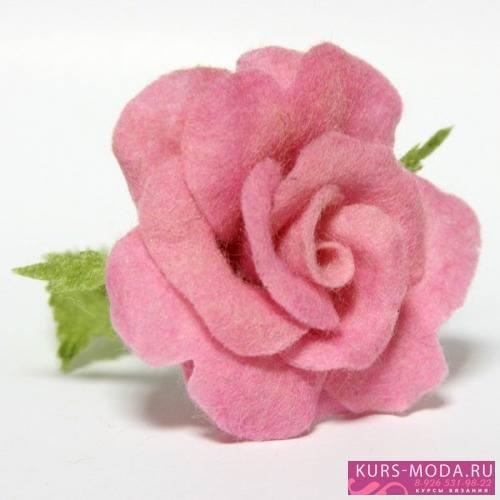 Валяные цветы 6559017_m