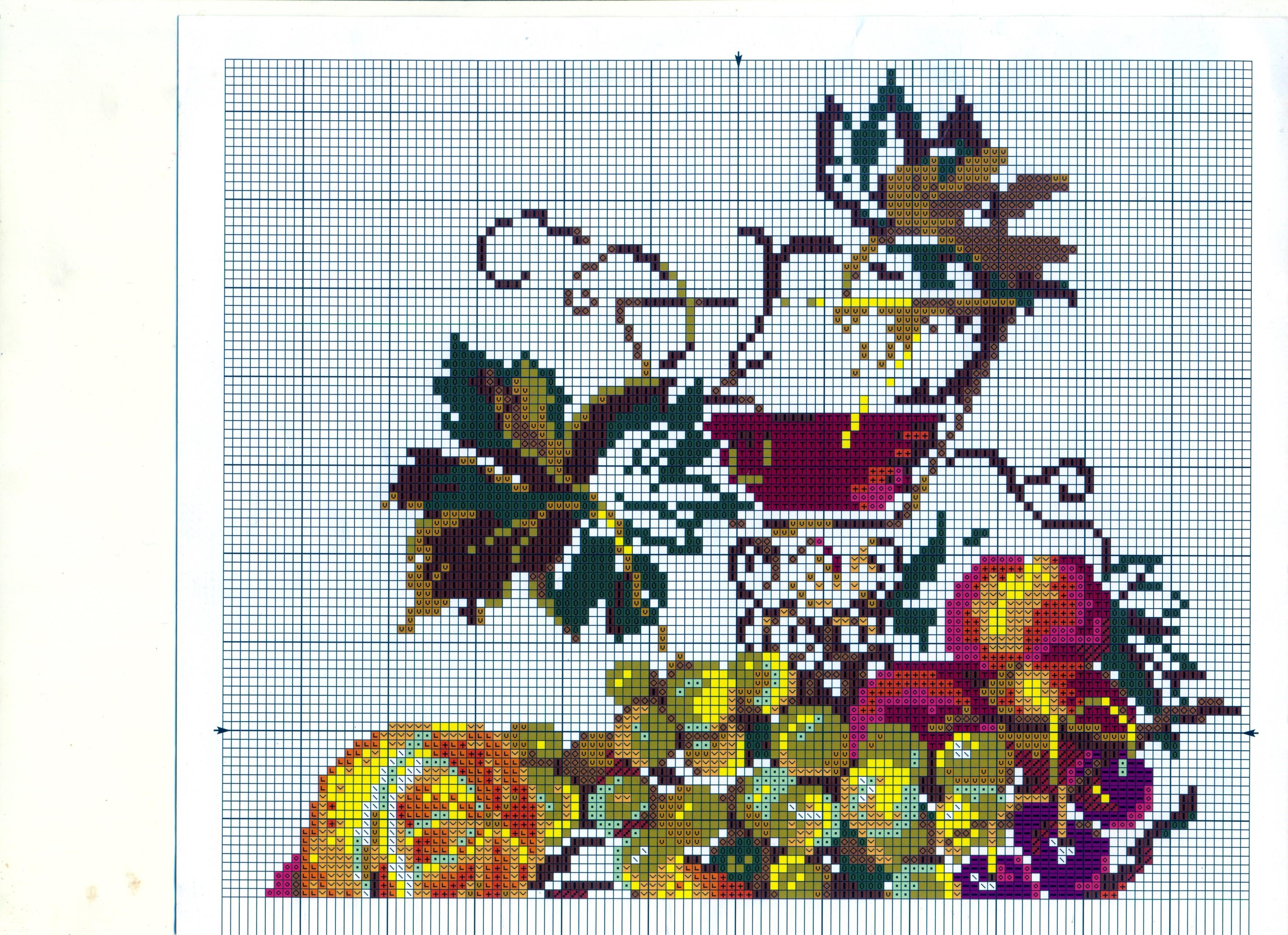 Схемы вышивки крестом натюрморты для кухни 55